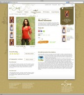 ecShop - Organic template detail page with added product